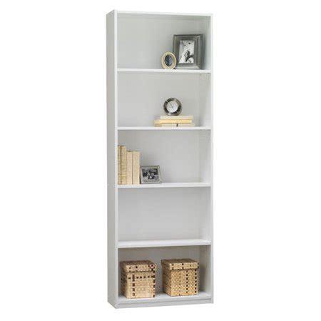 mainstays 5 shelf bookcase mainstays 5 shelf bookcase white walmart