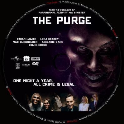 2014 Anarchy Movies The Purge DVD-Cover