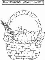 Coloring Harvest Thanksgiving Basket Pages Template Printable Fall Fruit Templates Apple Christian Popular Getcoloringpages sketch template