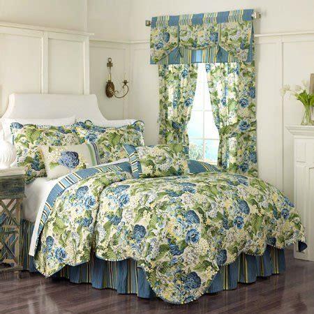 Floral Flourish Twin Waverly Quilt Set   PC Fallon