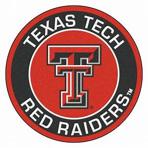 Texas Tech University Red Raiders Logo Roundel Mat - 27""