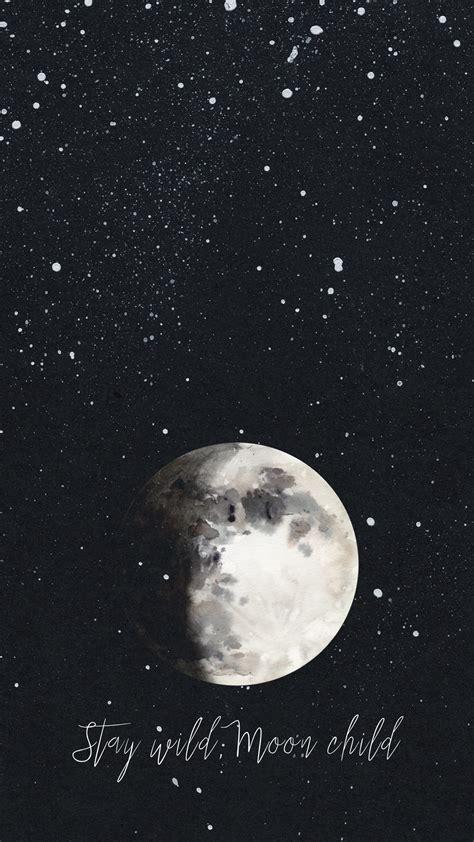 aesthetic and moon wallpapers