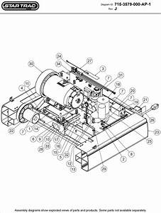 Star Trac Tr7600 Parts List And Diagram