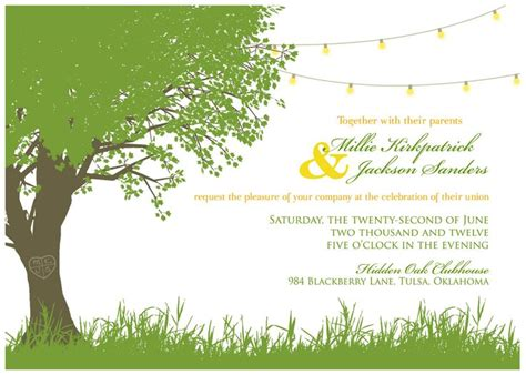 wedding garden invitations digital garden