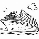 Ship Cruise Coloring Printable Getcolorings Rich sketch template