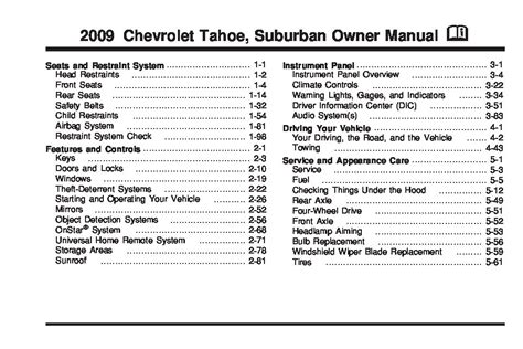 chevrolet tahoe owners manual  give   damn