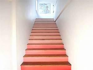 cage d39escalier 20 idees deco pour un bel escalier With peindre les contremarches d un escalier en bois 6 renovation escalier la meilleure idee deco escalier en un