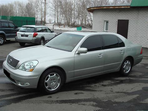 Used 2002 Lexus Ls430 Photos 4300cc Gasoline Fr Or Rr