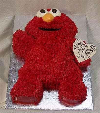 Elmo Cake Birthday Cakes Cut Custom Cupcake