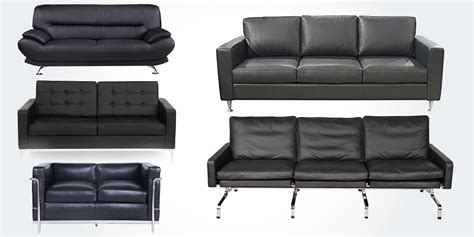 Original Leather Sofa 15 Best High Quality Genuine Leather Sofa Couches