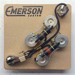Emerson Custom Prewired Sg Wiring Harness