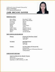 Resume Examples Philippines Resume Ixiplay Free Resume Samples Simple Resume Sample Philippines