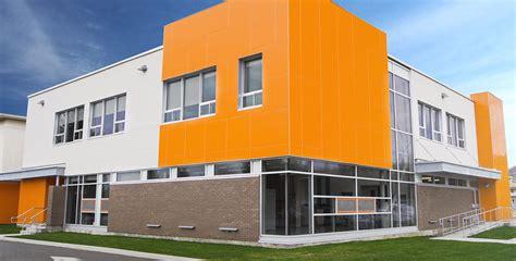 bureau de change laval carrefour école primaire le carrefour tla architecture