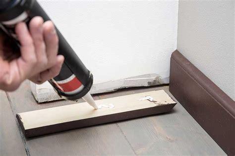 poser plinthe cuisine comment poser des plinthes