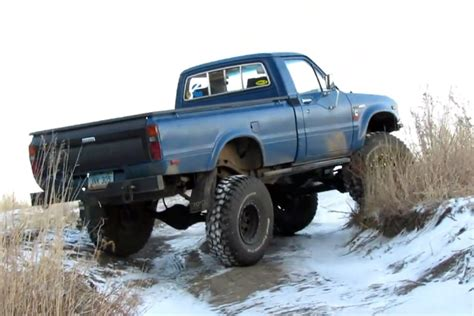 4bt cummins toyota video cummins converted toyota pickup is the ultimate off