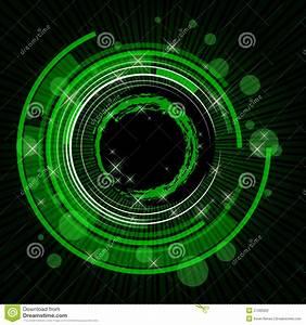 Green tech background stock illustration. Image of modern ...