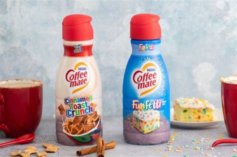 Haven't reminded you about cinnamon toast crunch light ice cream in a while. Coffee-Mate's Cinnamon Toast Crunch And Funfetti Coffee Creamers Are In Stores Now