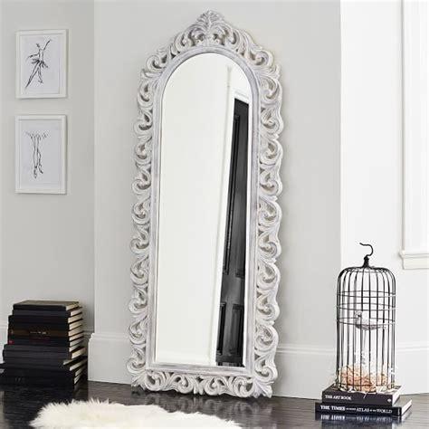 floor mirror ornate ornate floor mirror pbteen
