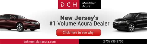dch montclair acura acura used car dealer service center dealership ratings