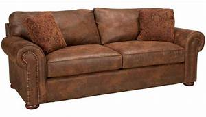 Klaussner faux leather sofa jordans furniture for Sectional sofas jordans