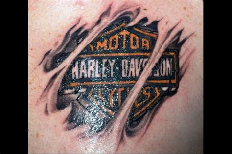 25+ Best Ideas About Harley Davidson Tattoos On Pinterest