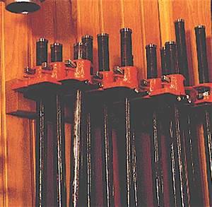 Idea Shop 1: 14 Pipe-clamp storage