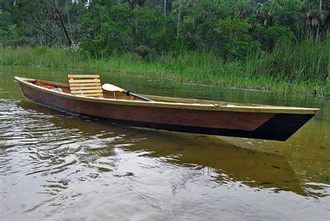 cajun pirogue boat kit    build  purchase pinterest boating wooden boats