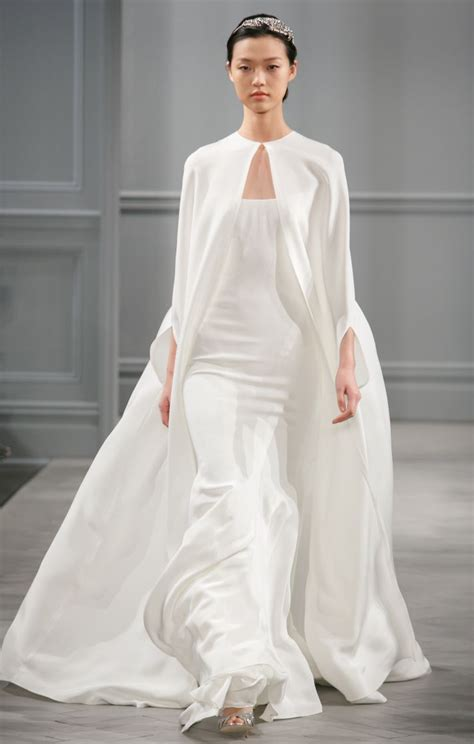 From City Hall To The Altar Monique Lhuillier Spring 2014