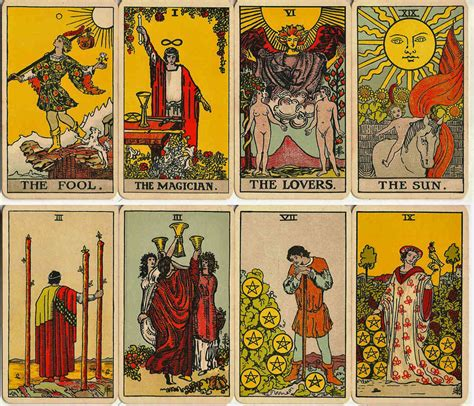 Maybe you would like to learn more about one of these? Rider Waite Tarot early editions - The World of Playing Cards