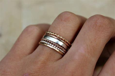 Stacking Rings Gold Ring Rose Gold Ring Set Of 6 Blue. Channel Set Diamond Wedding Band. Connected Rings. Bone Wedding Rings. Jasper Earrings. Personalized Name Necklace. Gem Chains. Gold Leg Bracelet. Gold Single Bangle Designs