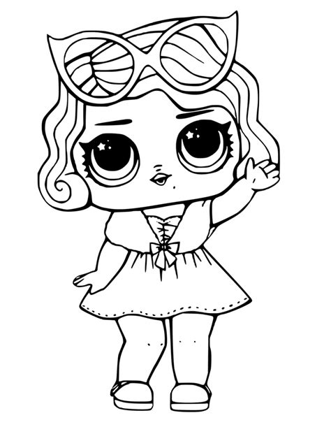 Coloring Lol Dolls lol dolls coloring pages best coloring pages for