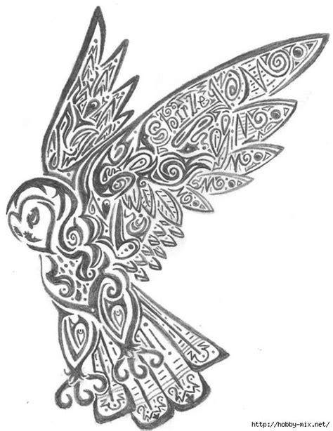 Gallery.ru / Фото #13 - совушки - ninmix | Татуировка сова