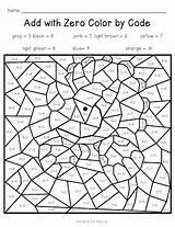 Math Grade Addition Code Hidden 1st Sheets Kindergarten Activities Adding Mystery Firstgradealacarte Start sketch template