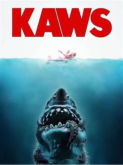 Kaws Jaws Parody Fugi Were