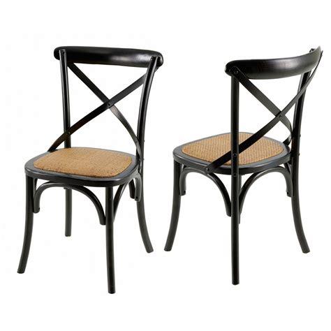 chaises de bistrot chaises bistrot villa florence lot de 2 mooviin