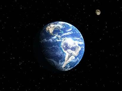 Earth Wallpapers Space Moon Resolution 3d Animated