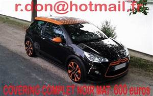 Ds3 Noir Et Orange : citroen total covering blanc mat gris mat bleu mat rouge mat orange mat peinture total ~ Gottalentnigeria.com Avis de Voitures