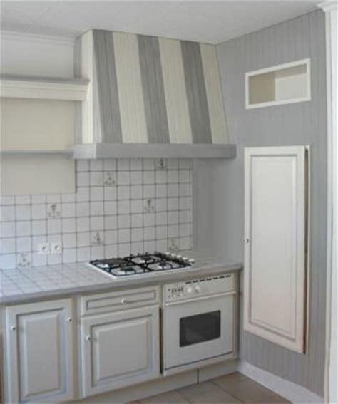 cuisine relookee grise cuisine relookée amphora artisan meubles peints