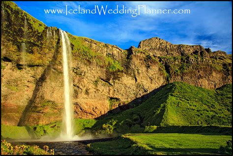 southern wedding planner seljalandsfoss wedding photos in iceland