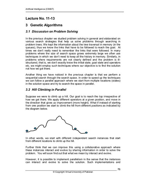 Artificial intelligence cs607 handouts lecture 11 - 45