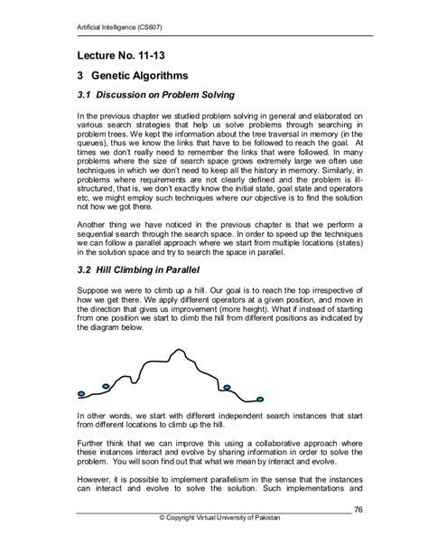 Artificial intelligence cs607 handouts lecture 11 - 45