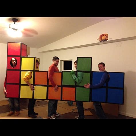 Tetris Cheap Halloween Group Costumes POPSUGAR Smart