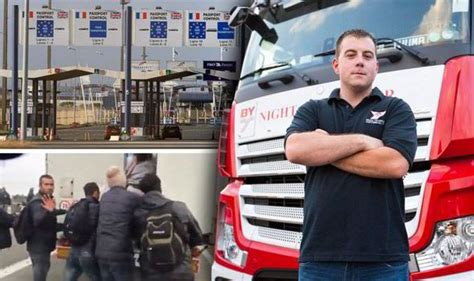 Calais Lorry Drivers Beg For Help As Illegal Immigrants