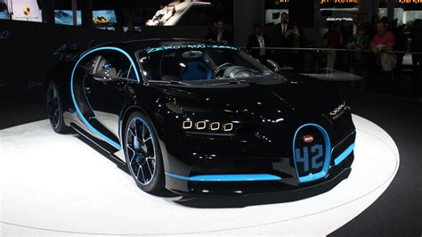 Bugatti Chiron  42 Secondes  En Direct Du Salon De