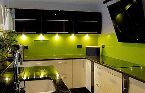 lime green and black kitchen kitchens with green walls cabinets tiles walls splash 9031