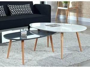 Table Basse Grande Taille : table basse grande dimension interesting table basse ~ Teatrodelosmanantiales.com Idées de Décoration