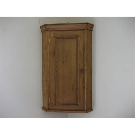 Corner Wall Cupboard pine wall corner cupboard w51cm