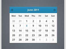 30 Beautiful Free PSD Calendar Templates for your Artworks