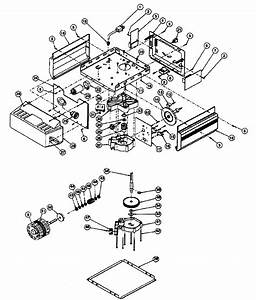 Genie Ac Chain  Belt Drive Gdo Motor Assy Parts