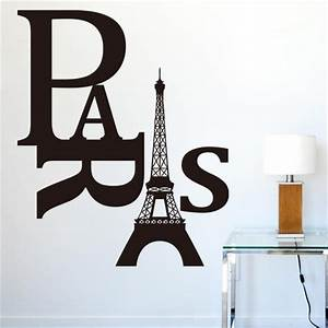 Popular paris word buy cheap paris word lots from china for Paris wall art